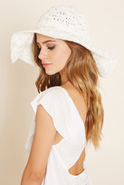 Forever 21 FOREVER 21+ Wide-Brim Straw Hat