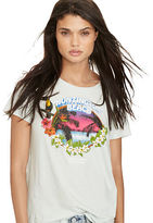 Denim & Supply Ralph Lauren Drapey Cotton Graphic Tee