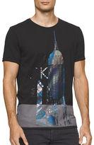 Calvin Klein Jeans Metallic City Crew Neck Tee