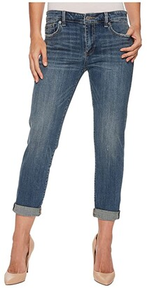 Lucky Brand Sienna Slim Boyfriend Jeans in Azure Bay Clean (Azure Bay Clean) Women's Jeans