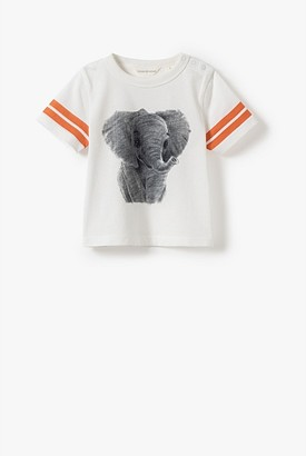 Country Road Organically Grown Cotton Baby Elephant T-Shirt