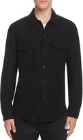 Theory Rossland Mory Flannel Slim Fit Button Down Shirt
