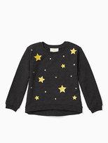 Kate Spade Toddlers star sweatshirt