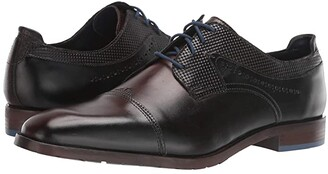 Stacy Adams Raiden Cap Toe Oxford (Black) Men's Shoes