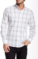 Vince Camuto Plaid Long Sleeve Slim Fit Shirt