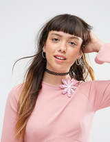 Asos Pack of 2 Wallflower Hair & Body Brooches