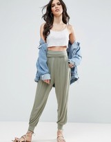 Asos Harem Pants In Jersey