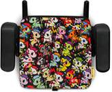 Clek Olli Backless Belt Positioning Portable and Compact Booster Car Seat with Latch, tokidoki