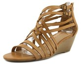 American Rag Amariel Open Toe Synthetic Wedge Sandal.