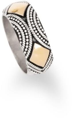 Aquila Jewellery Unique Silver Statement Ring - Agra