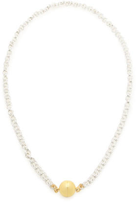 Timeless Pearly CHAIN NECKLACE WITH MAGNETIC CLASP OS Silver, Gold
