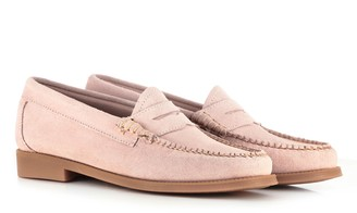 G.H. Bass & Co Weejun Wmn Penny Loafers Pink - UK3/UE36