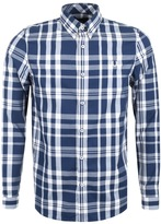 Fred Perry Fred PerryTwo Colour Check Shirt Blue