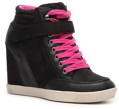 Mad Love Funky Wedge Sneaker