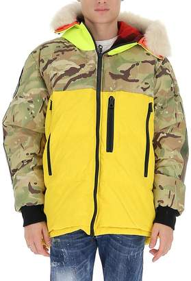 Griffin Camouflage Zipped Jacket