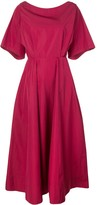 Derek Lam flared midi dress