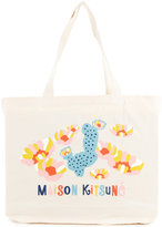 MAISON KITSUNÉ Cactus shopping bag - unisex - Cotton - One Size