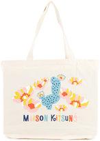 MAISON KITSUNÉ Cactus shopping bag