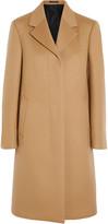 Jil Sander Brushed wool and cashmere-blend coat