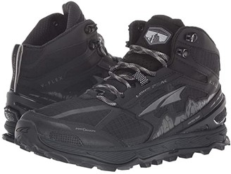 Altra Footwear Lone Peak 4 Mid Mesh (Black) Women's Shoes
