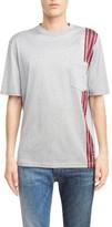 Lanvin Men's Stripe Band T-Shirt