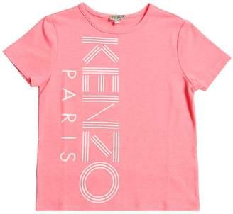 Kenzo Logo Print Cotton Blend T-shirt