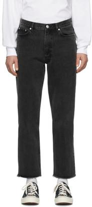 A.P.C. Black Rudie Jeans