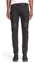 Neil Barrett Men's Skinny Moto Jeans