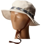 San Diego Hat Company CTH8023 Canvas Bucket Hat with Jacquard Trim