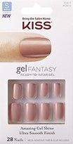 """Kiss Nails GEL FANTASY """"KGN12"""" (RIBBONS) Short Design Nails w/Adhesive Tabs & Glue"""