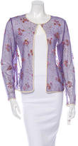 Mary Katrantzou Embellished Mesh Cardigan