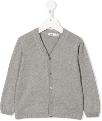 Knot V-Neck Knitted Jacket