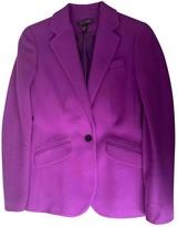 Lauren Ralph Lauren Purple Wool Jacket for Women