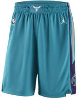 Nike Men's Charlotte Hornets Icon Swingman Shorts