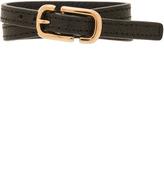 Marc Jacobs Icon Buckle Double Wrap Bracelet