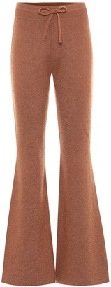 REJINA PYO Cecilia mohair-blend flared pants
