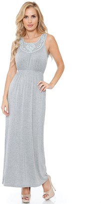 White Mark Women's Katherine Maxi Dress