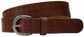 Loop 35mm Vintage W Emboss Belt