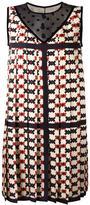 Marc Jacobs pixel check print dress - women - Silk/Cotton/Nylon - 2