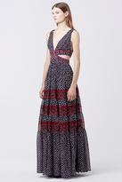 Diane von Furstenberg Altessa Cut-Out Dress