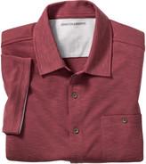 Johnston & Murphy Vintage Slub Camp Shirt