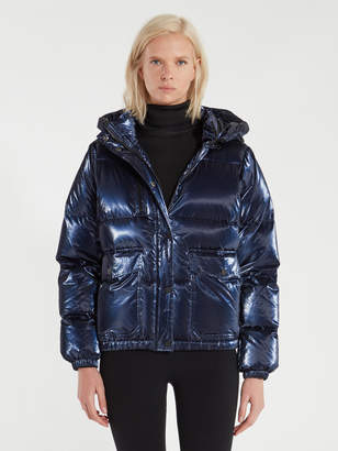 Blanc Noir Mont Blanc Reflective Trim Puffer Jacket