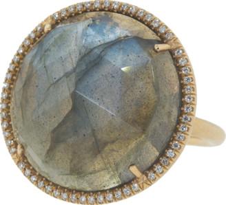 Irene Neuwirth Jewelry Rose Cut Labradorite Ring