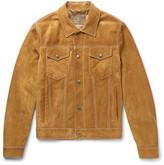 Prada Slim-Fit Suede Jacket