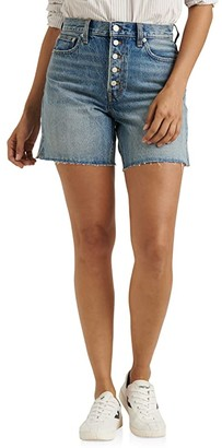 Lucky Brand High-Rise Traveler Shorts in Unlimited (Unlimited) Women's Shorts