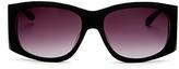 Moschino Rectangle Sunglasses, 58mm