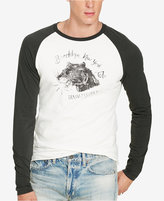 Denim & Supply Ralph Lauren Men's Jersey Long-Sleeve Baseball T-Shirt