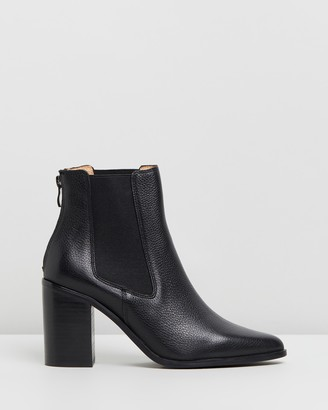 Jo Mercer - Women's Black Chelsea Boots - Lover Leather Ankle Boots - Size 39 at The Iconic
