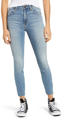 Pistola Denim Aline High Waist Skinny Jeans