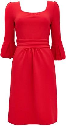 Wallis **Jolie Moi Red Bell Sleeve Shift Dress